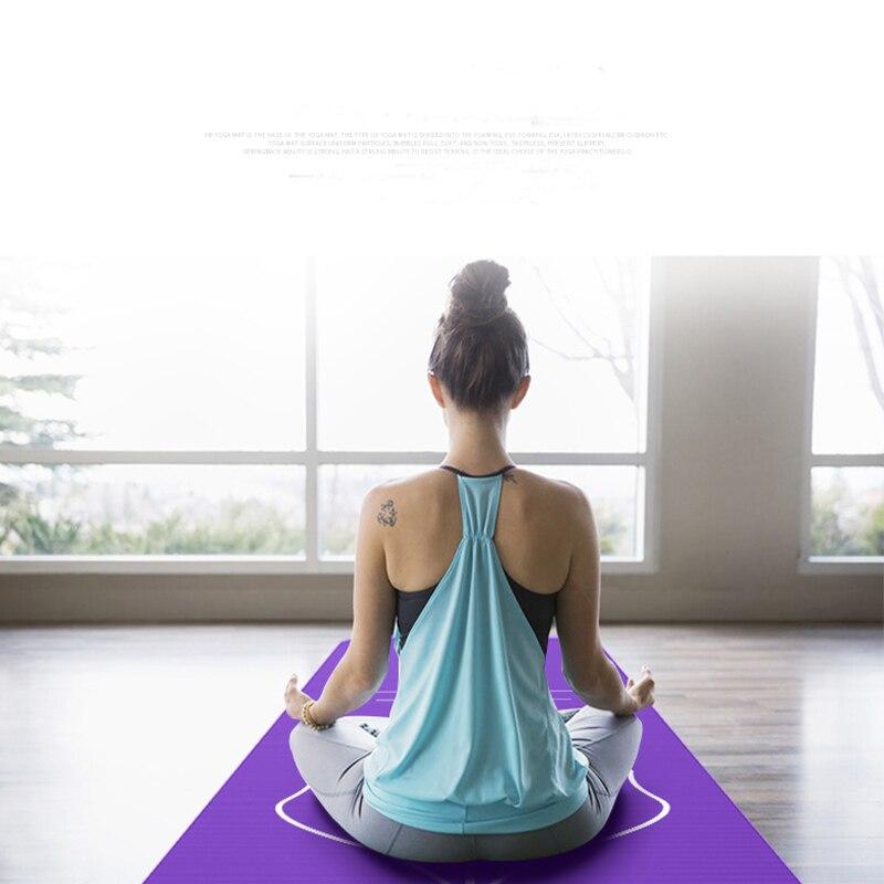 Yoga Mat Alignment Stripe For Proper Positioning