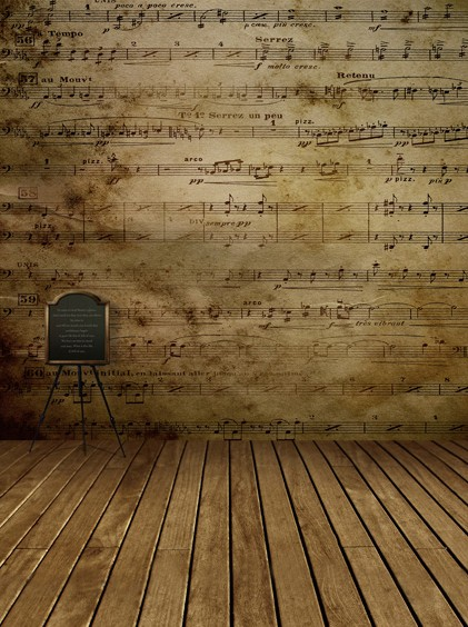 Music background promotion shop for promotional music for Music studio flooring