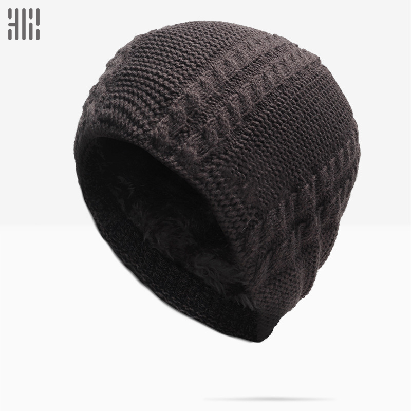 Winter Hat Sale Solid Adult Man And Woman 2018 New Fashion Warm Wool Knitted Hat Korean Style Winter   Skullies  &  beanies   Cap For