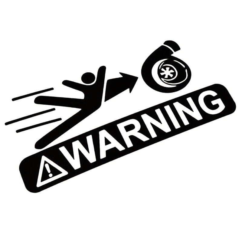 Стайлинга автомобилей Стикеры Предупреждение знак Прохладный Графика мотоциклов внедорожники бампер окна автомобиля ноутбук виниловые н...