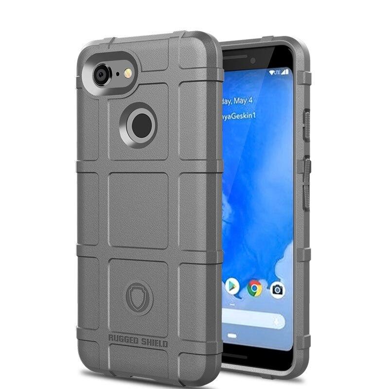 For Google Pixel 3 Case Pixel 3 XL Case Silicone Armor Matte TPU Holder Phone Case For Google Pixel 3 XL Case Pixel 3 3XL Cover