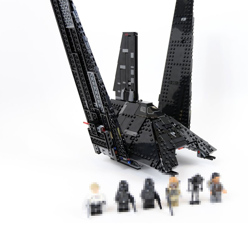 Nova Lepin 05049 Star Series 898Pcs The Shuttle Building Blocks Bricks Toys for children Compatible with 75156 Star Series W new lepin 16009 1151pcs queen anne s revenge pirates of the caribbean building blocks set compatible legoed with 4195 children