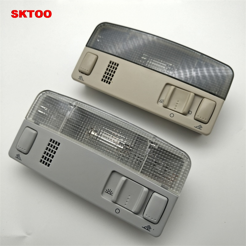 SKTOO Car Dome Reading Map Light Lamp For Volkswagen /VW /Passat B5 /POLO /Touran /Skoda /Octavia /Golf MK4 1TD 947 105 2pcs car styling auto no error under mirror led puddle light lamp for volkswagen vw golf mk6 gti touran 2011 white accessories