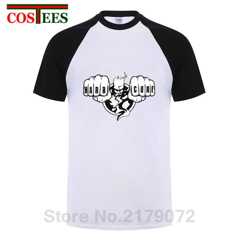 068fd60c 2019 New Cool man Design t-shirts Thunderdome Hardcore T shirt men Short  Sleeve Youth
