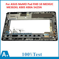 10 1 Touch LED LCD Screen Assembly Dgitizer Frame For Asus MeMO Pad FHD 10 ME302C