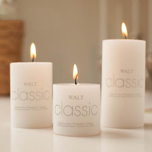 1PC Scented Candles Craft Gifts Party Wedding Home Column Wax Fragrant Candle Decorative 3D