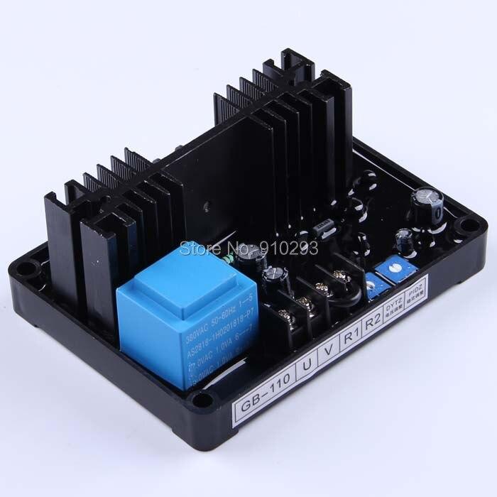 GB-110 фазный комбинированный генератор возбуждения AVR Дизельная генераторная установка части щетки электроники автоматический стабилизатор напряжения