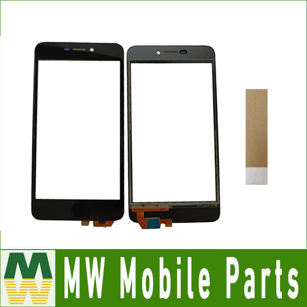 High Quality 5.0 For BQ 5037 BQ-5037 BQS-5037 BQS 5037 Touch Screen Digitizer Front Glass Lens Black Color With Tape