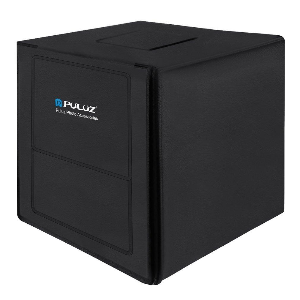 PULUZ 80cm Lightbox Photo Studio Softbox White Light Photo Lighting Studio Shooting Tent Box Kits & Photography Backdrop US Type box