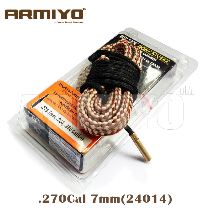 Armiyo Alésage Serpent. 270. 284. 280 Cal 7mm Baril Sling Cleaner 24014 Chasse Outil De Nettoyage