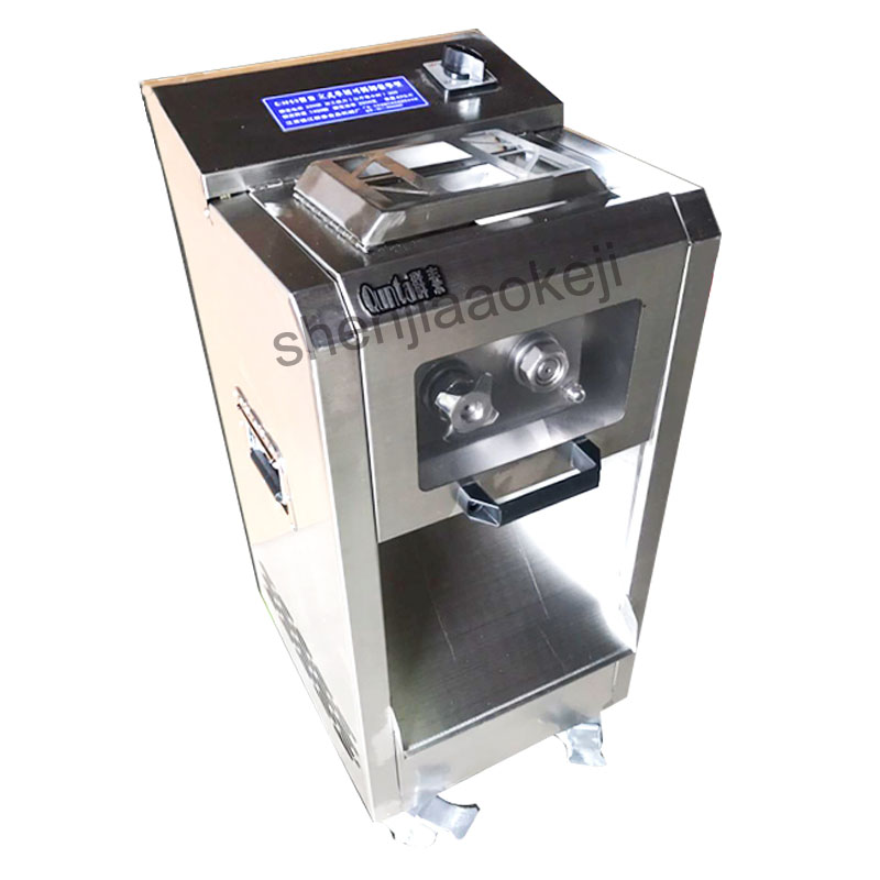 Commercial stainless steel electric meat slicer Household meat slicing machine electric cutting machine detachable 300kg/h commercial lemon slicer machine professional fruit slicer machine electric orange slicer automatic fruit cutting machine 220v1pc