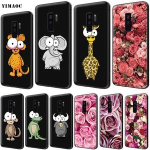 YIMAOC Big Eye Zebra Elephant Ostrich Soft Silicone Case for Samsung Galaxy  S6 S7 7563fc737967