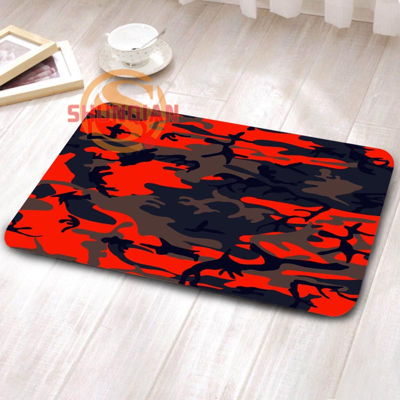 Custom Camouflage Doormat Home Decor Best Nice Living Room Anti Slip Tapete  Rugs H0402bes61(