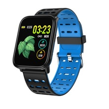 Bluetooth Heart Rate Monitor Smart bracelet Blood Pressure Fitness Tracker Smart Watch Men Sport Smart Wristband for ios android цена