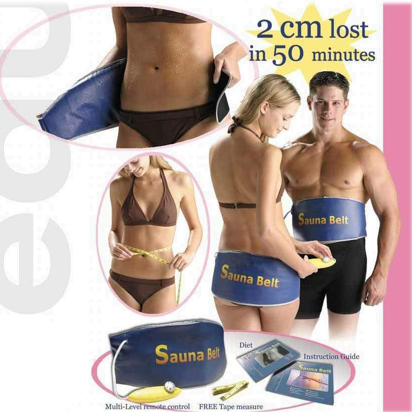 (without adapter) Fashion Heating Slimming belt health care body Massager Sauna belt for weight loss as seen on TV (220v)