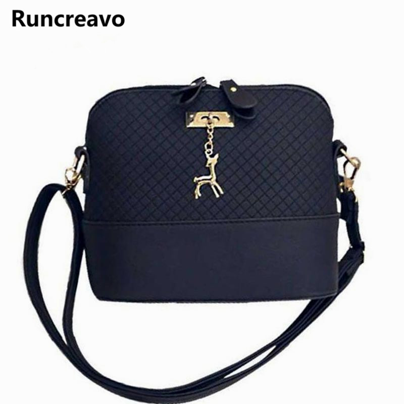 HOT SALE!2018 Women Messenger Bags Fashion Mini Bag With Deer Toy Shell Shape Bag Women Shoulder Bags Handbag bolsa feminina 2018 women messenger bags vintage cross body shoulder purse women bag bolsa feminina handbag bags custom picture bags purse tote