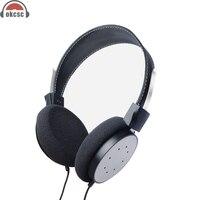 OKCSC M6 Aşırı kulak Kulaklık Spor Kulaklık Akşam Bas Kablolu Katlanabilir Kulaklık Iptal Aktif Gürültü