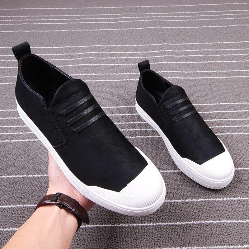De Respirantes Décontractées Nouveauté Pour Slip Sur Confortable Homme Panda Peluche En 2019 Mode Printemps Noir Chaussures Espadrilles Hommes pX7fxX0q