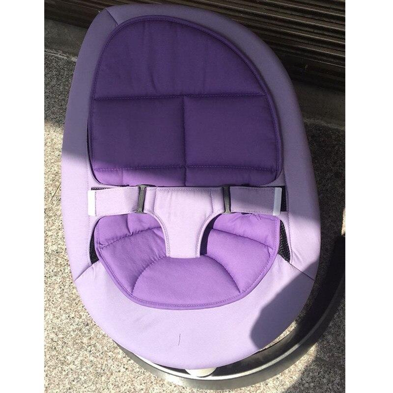 Berceau bébé chaise berçante en alliage d'aluminium base ours 60 KG chaise longue chaise berceau pour nouveau-né - 5