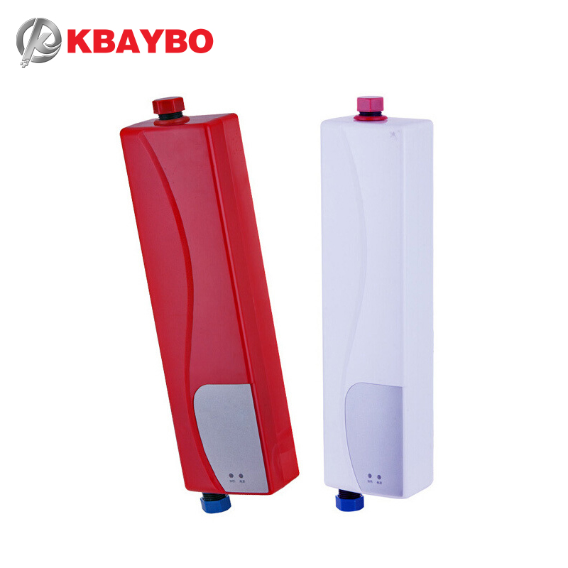 3000w instantaneous water heater electric shower kitchen for 5 bathroom tankless water heater