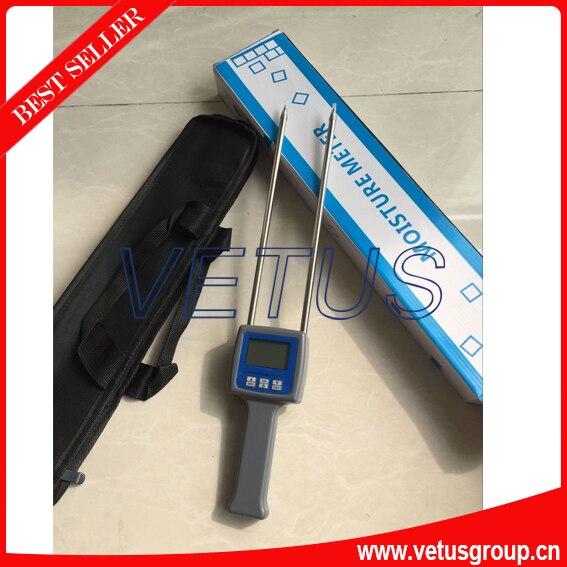 TK100W 4 digital LCD Display Wood Sawdust Powder Moisture Meter  цены