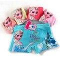 5pcs/Lot Children Girls Anna Elsa Princess Panties Kids Fashion Character Boxer Brief Infant Teen Girl Short Underwear