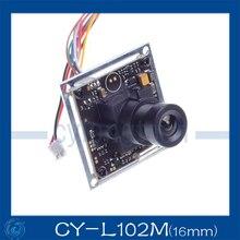 700TVL CCTV Camera Sony Effio-E 4140+811 OSD Menu 16mm Lens Security Camera Outdoor Using.CY-L102m