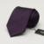 Romguest alto grado de nano violeta púrpura 8 cm color puro ocio sarga tie