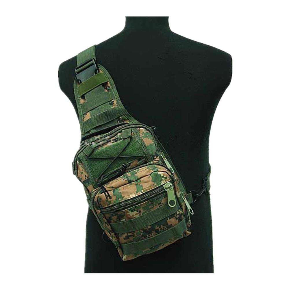 Tactical Molle Utility Gear Shoulder Sling Bag OD Camo Woodland Digital Woodland BK CB ACU S sports bag us sports bag airsoft tactical 3 day molle assault backpack bag od bk digital camo