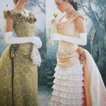 MadeR-494 personalizado hecho a medida 1860S guerra Civil gótico lolita vestido de novia/vestidos victorianos/vestidos Vintage del Renacimiento
