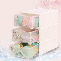 Lattices Classify UnderWear Storage Drawer Under Socks Bra Storage Box Combined Wardrobe Drawer Organizer PP Plastic Storage Bin