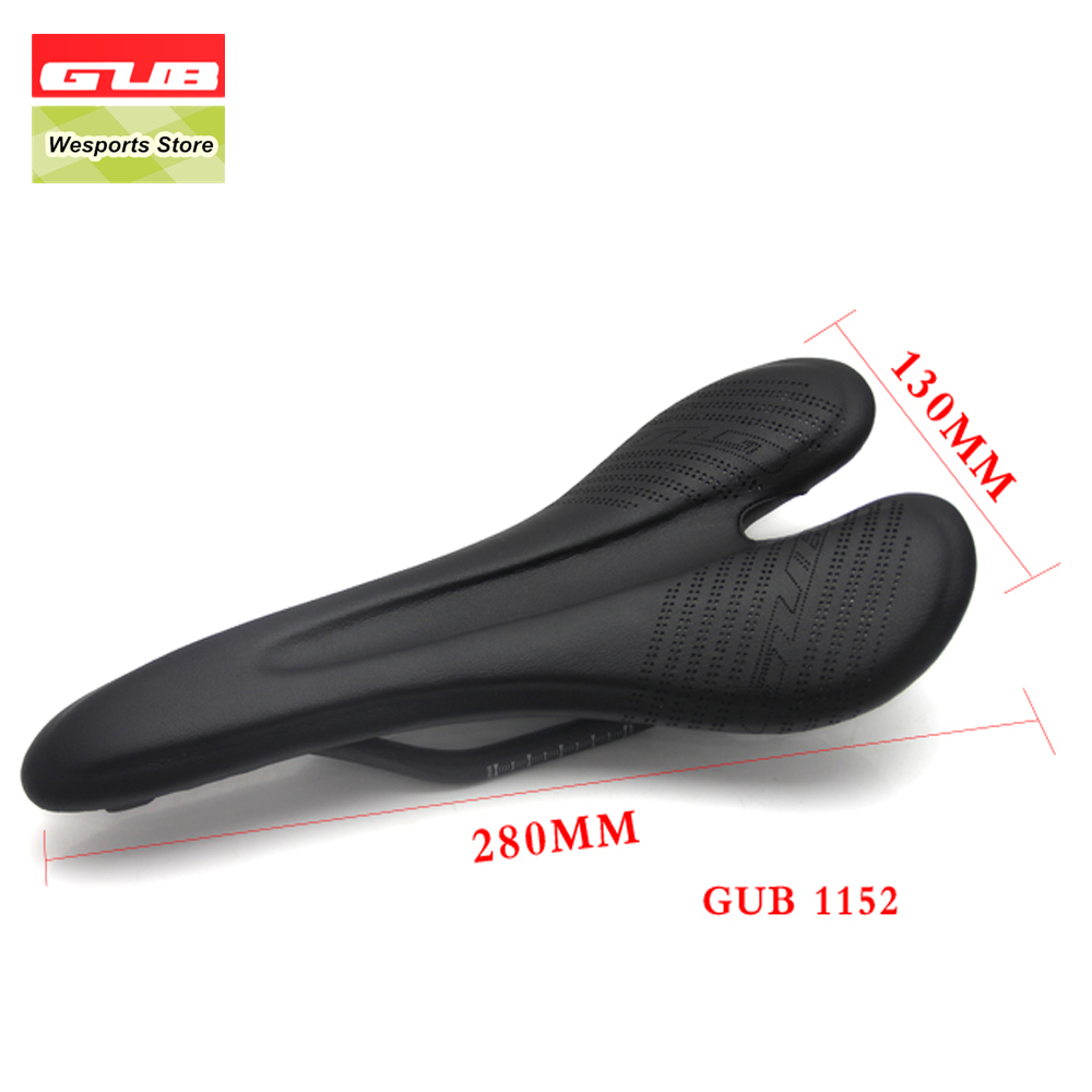 GUB Light weight full carbon saddles fiber bike saddle seat parts road mountain bike MTB cushion front seat bicycle saddle full fiber road folding mountain bike parts bicycle 271 143mm sillin carbono mtb pu cushion front seat for carbon saddle