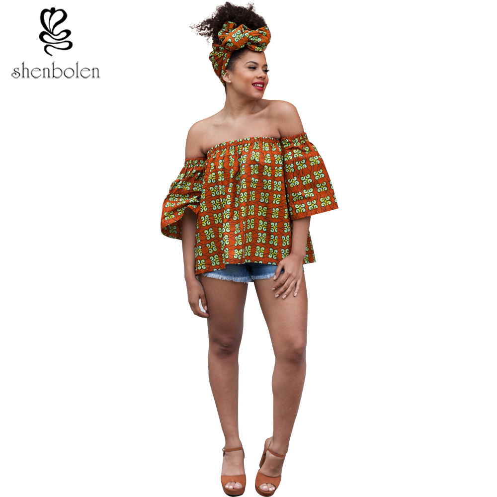 African Clothes For Women Traditional Classical Wax Printing Printed