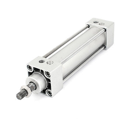 32mm Bore 100mm Stroke Single Rod Dual Action Pneumatic Air Cylinder SC32x10032mm Bore 100mm Stroke Single Rod Dual Action Pneumatic Air Cylinder SC32x100