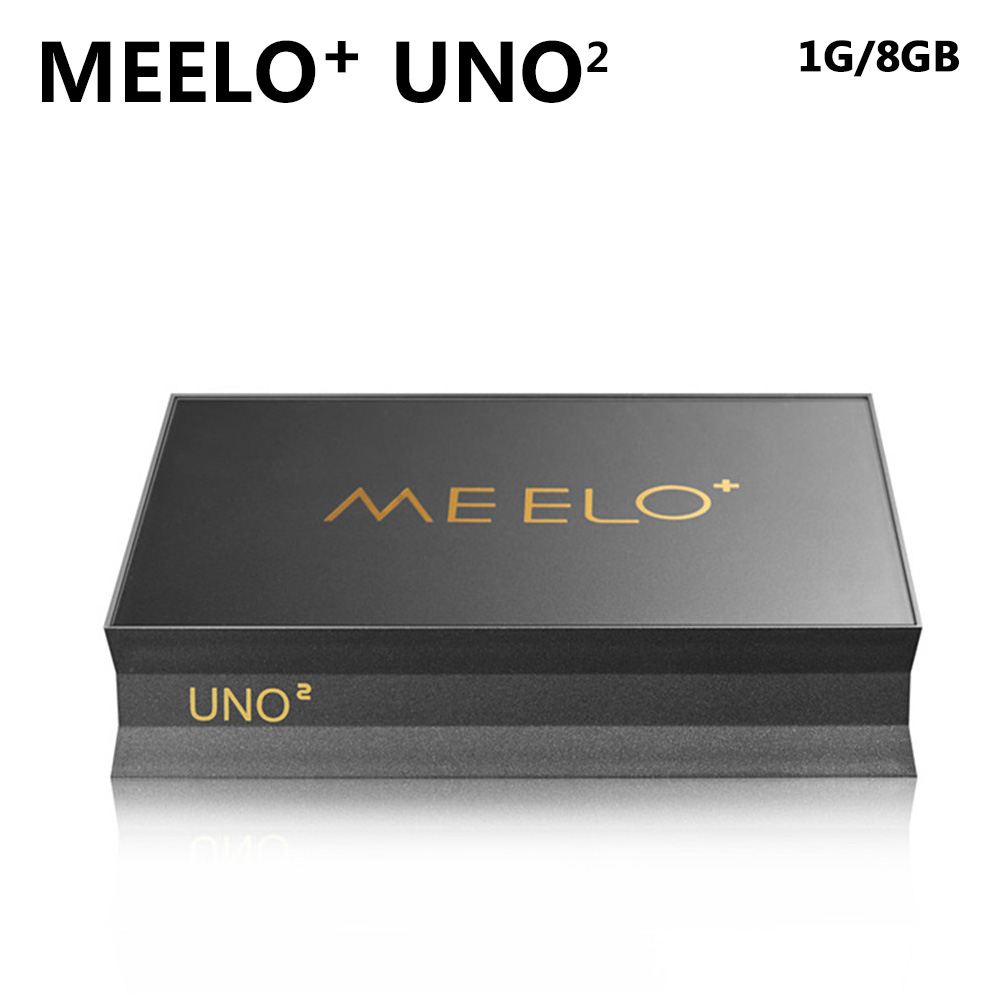 SZ High Quality Android 5.1.1 Meelo UNO2 1G 8G TV Box DVB-S2 Amlogic S905 Quad Core 1080p 4K kodi DVB hd 4kx2k s905 quad core 2 4ghz wifi