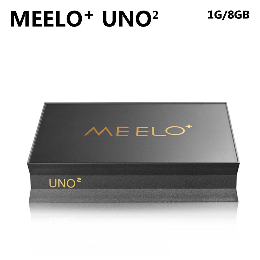 SZ High Quality Android 5.1.1 Meelo UNO2 1G 8G TV Box DVB-S2 Amlogic S905 Quad Core 1080p 4K kodi DVB original k1 plus s2 t2 android 5 1 tv box amlogic s905 quad core 64bit support dvb t2 dvb s2 1g 8g 1080p 4k tv box support ccamd