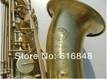 Wholesale– Henri selmer B flat Tenor saxophone instruments Antique Copper Simulation Sax R54 bronze with case,mouthpiece,gloves