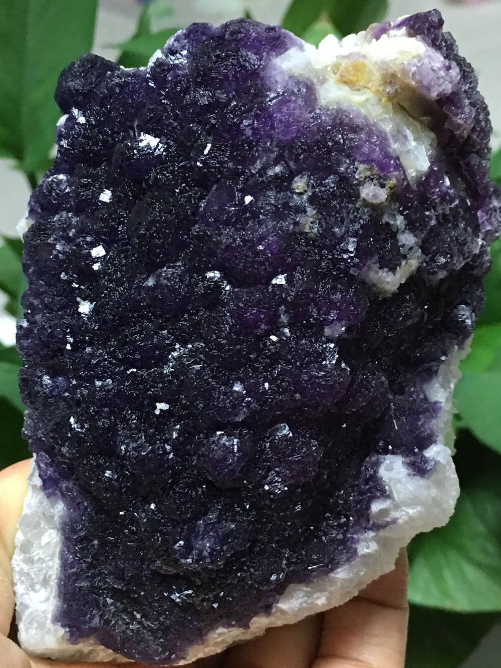527g Naturale Unico due lati campioni di minerali pietre di cristallo di Fluorite fluorite Viola e Verde527g Naturale Unico due lati campioni di minerali pietre di cristallo di Fluorite fluorite Viola e Verde