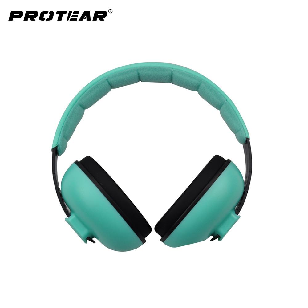 все цены на Baby Hearing Protector Soft Earmuffs for Infant Kids Noise Reduction Ear Protection Ear Muffs for 3 Months-4 Years Old Child онлайн