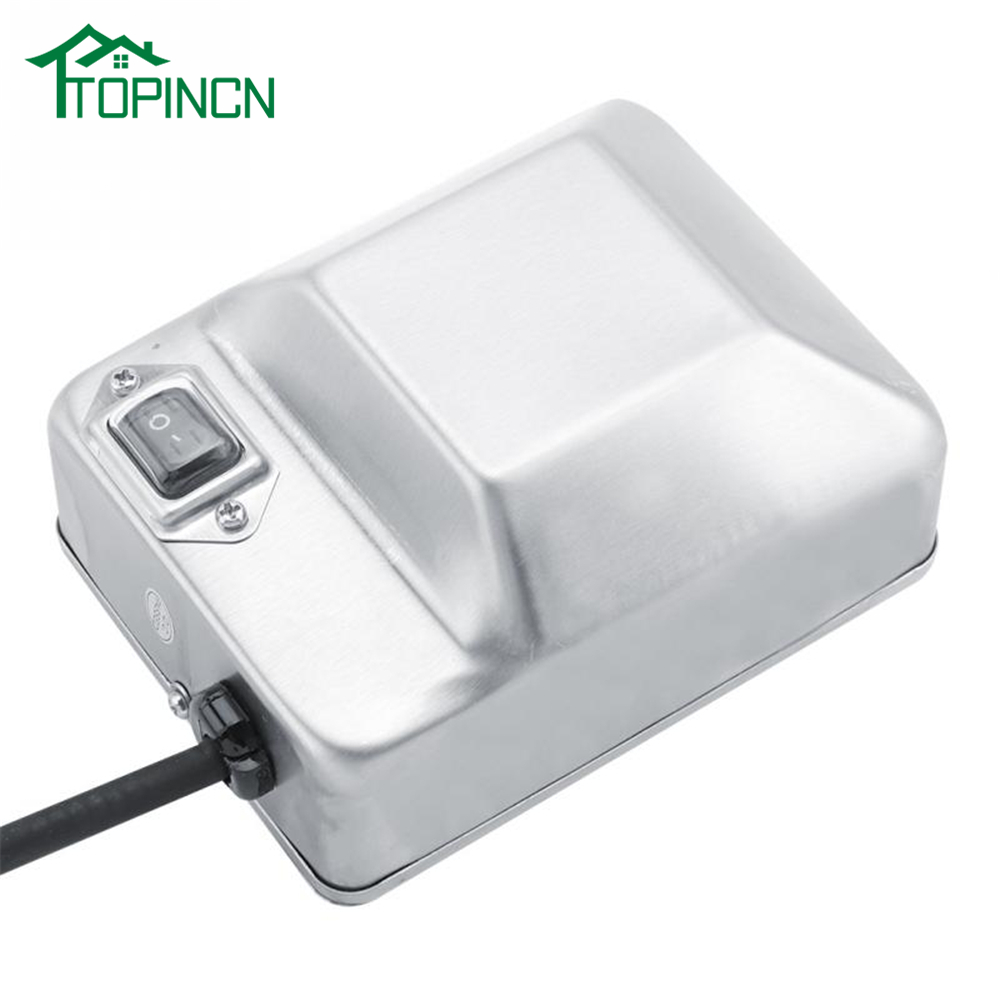TOPINCN Outdoor BBQ Grill Rotisserie Motor Sturdy Durable Portable Stainless Steel Electric Barbecue Grill Motor