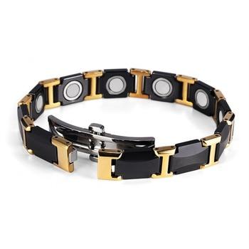 Powerful High Gauss Ceramic Magnetic Bracelet for Pain 2
