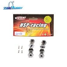 HSP RGT  SPARE PART CAR 680034 Wheel Hex.W/Pins (2*10) (AL.) +5mm 1/10 ELECTRIC POWER 4X4 136100