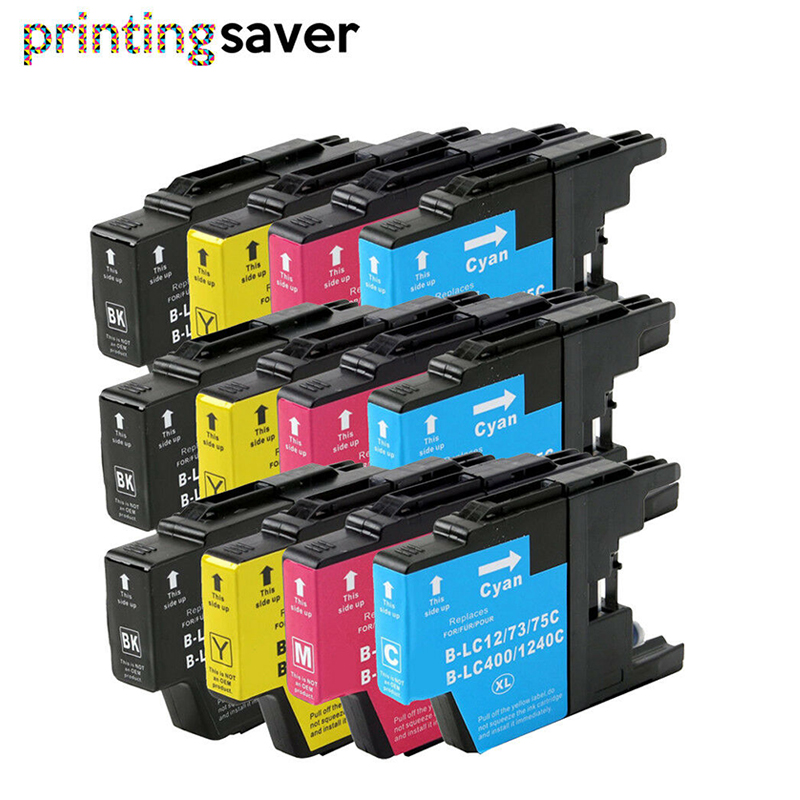 LC1240 <font><b>LC1280</b></font> ink cartridge for Brother MFC-J6510DW MFC-J6710DW MFC-J6910DW MFC-J5910DW MFC-J6710D Printer image