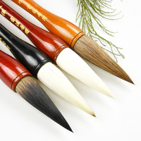 Chinese Calligraphy Brushes Pen Hopper shaped Brush Writing Couplets Chinese Painting Art Craft Supplies Office School Escolar