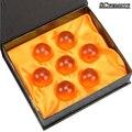 7pcs/lot 3.5CM Dragon Ball Z DragonBall 7 Stars Crystal Ball Dragon Ball Z Balls New In Box Best Gift Free Shipping CSL133