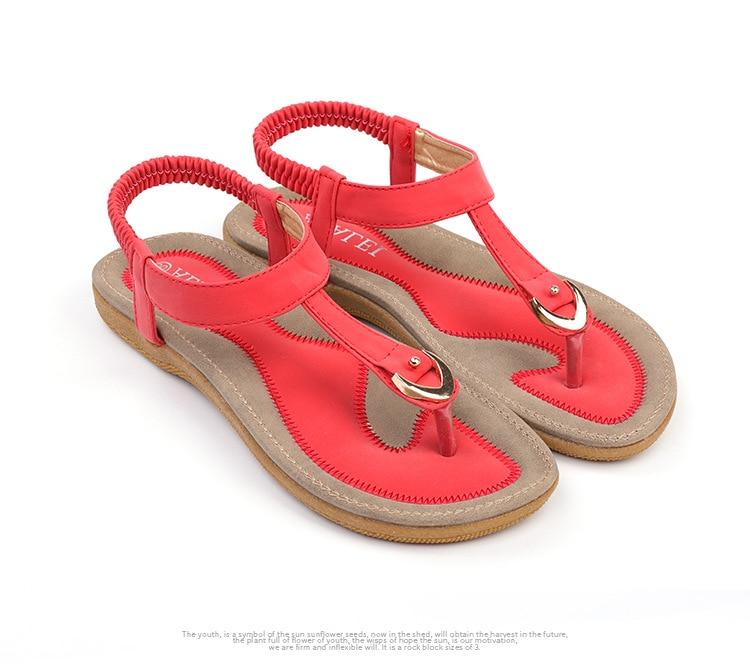 HTB1wrQeCL1TBuNjy0Fjq6yjyXXao BEYARNE size 35-42 new women sandal flat heel sandalias femininas summer casual single shoes woman soft bottom slippers sandals