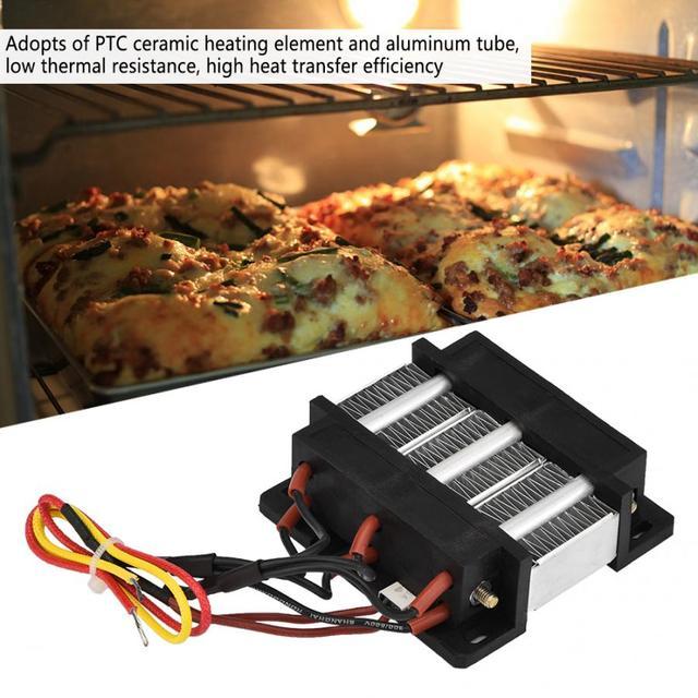 220V 200W Ceramic Air Heating Element Insulated PTC Ceramic Air Heater PTC Heating Element  Electric Heater Aluminum