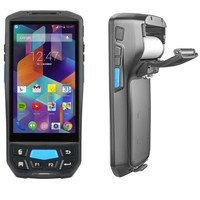 Android PDA Printer Industrial Rugged Printable Handheld Terminal Wireless bluetooth Android barcode scanner with printer