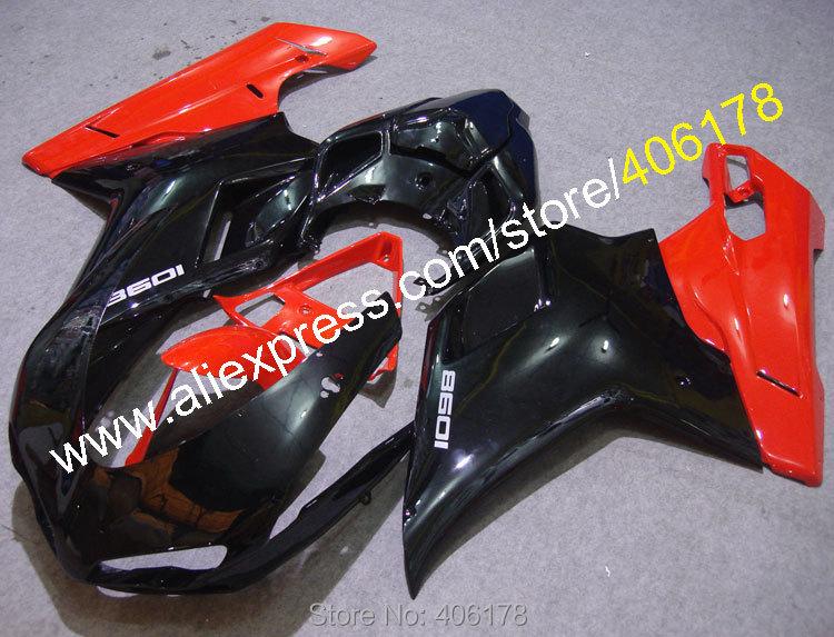 Hot Sales,Racing Fairings For Ducati 1098 848 07-11 1198 2007 2008 2009 2010 2011 ABS Red Black Fairings (Injection molding) car rear trunk security shield cargo cover for jeep compass 2007 2008 2009 2010 2011 high qualit auto accessories