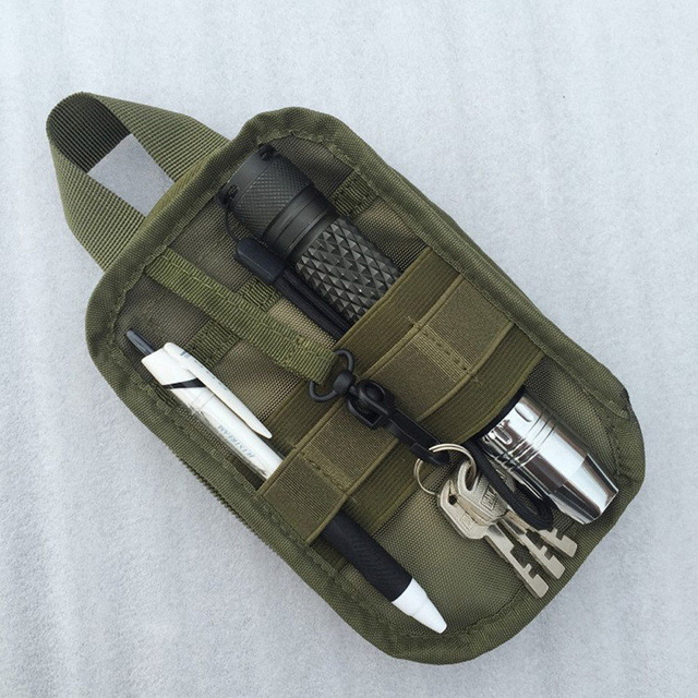 1000D Nylon Tactical Military EDC Molle Pouch small Waist Pack hunting Bag Pocket for Iphone 6 7 for Samsung Outdoor sport bags